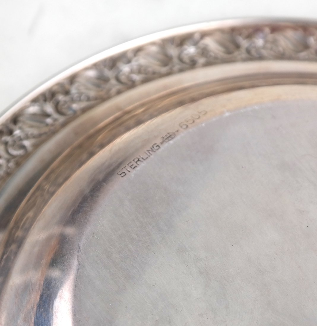 Four American Sterling Table Articles - 10
