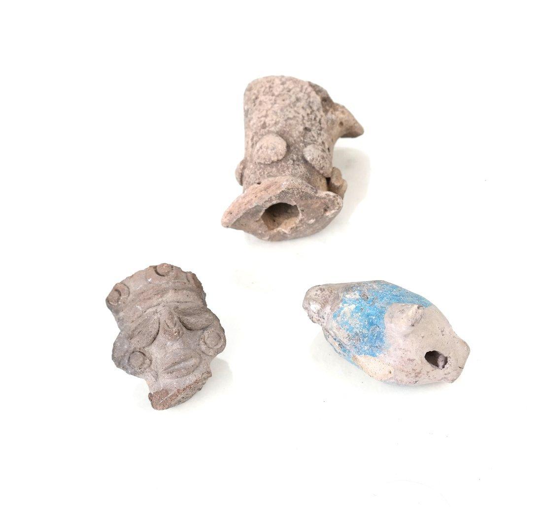 Ten Antique Terracotta Objects - 7