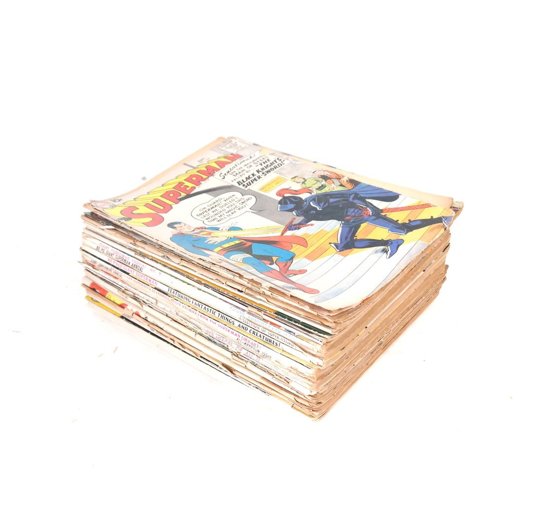1950's & 60's Superman Comic Books +