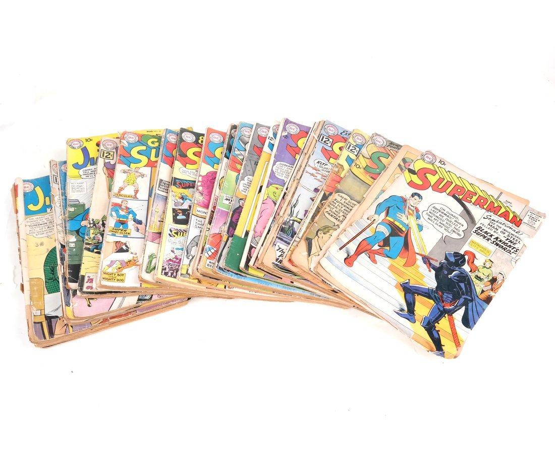 1950's & 60's Superman Comic Books + - 2