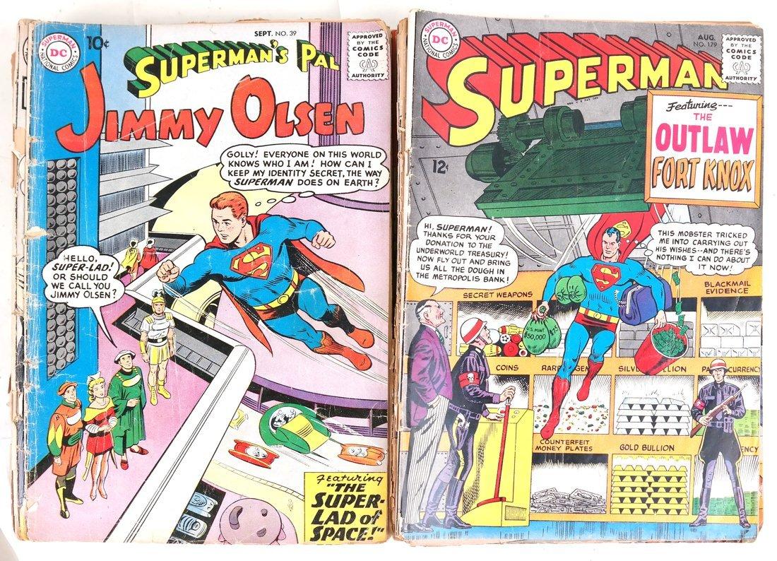 1950's & 60's Superman Comic Books + - 5