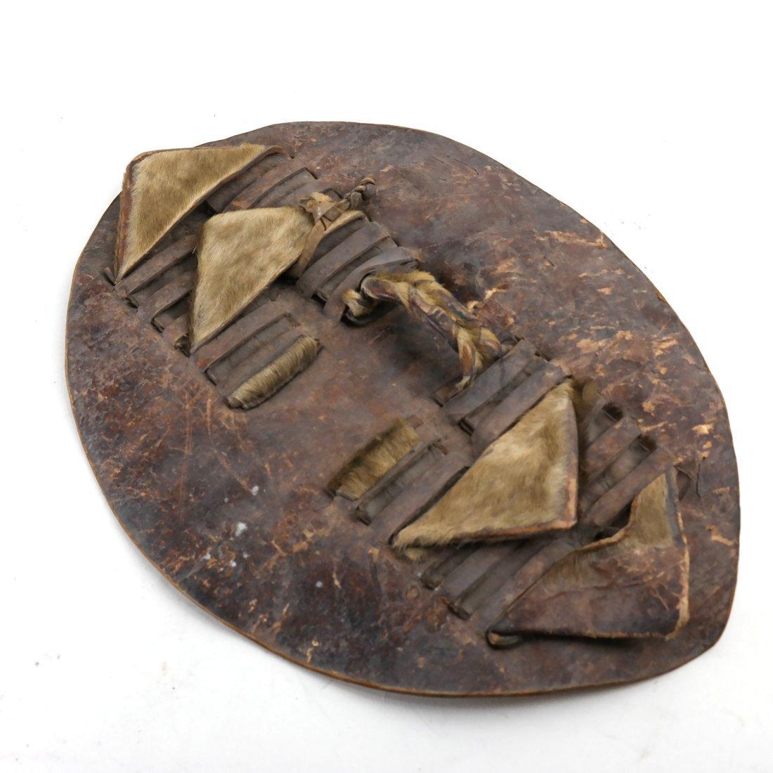 Animal Hide Decorative Shield