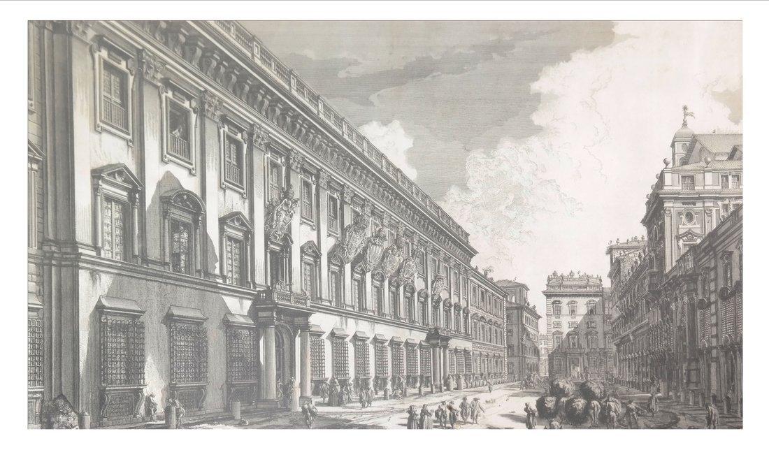 After Piranesi, Architectural Engraving