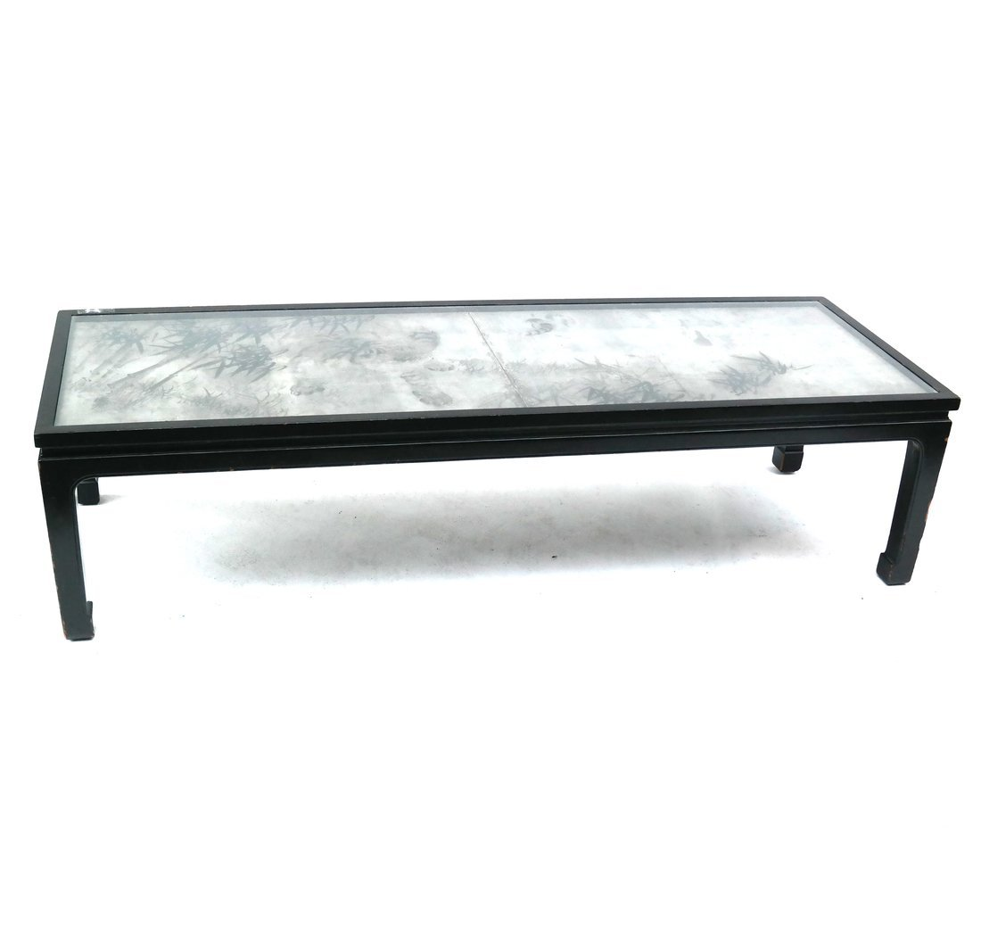 Modern-Style Black Coffee Table