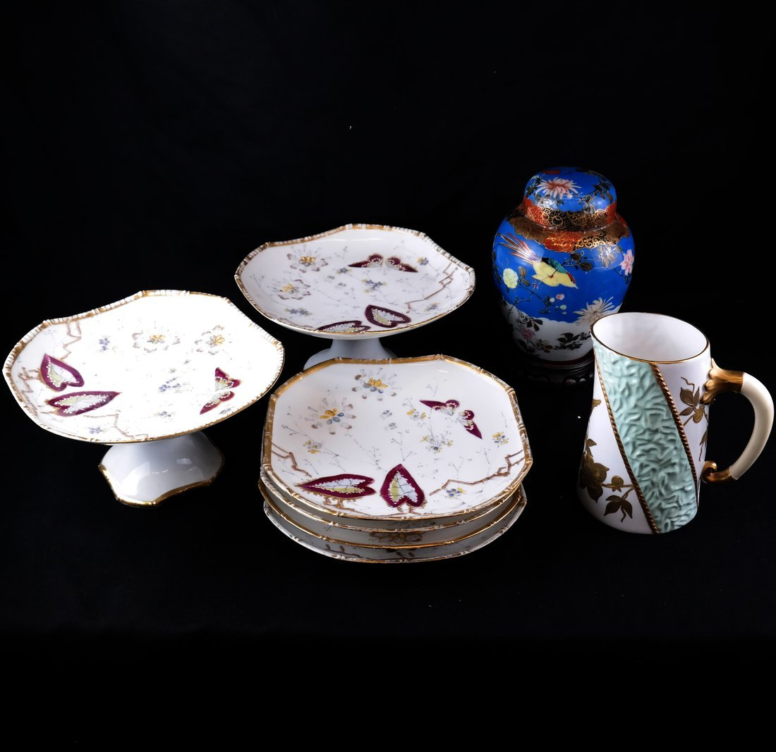 Eight Various Porcelain Items