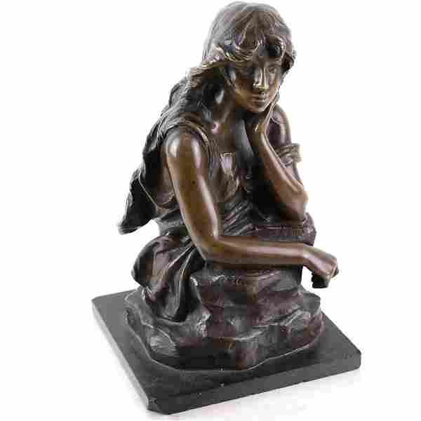 Eugene Marioton, Bronze Sculpture