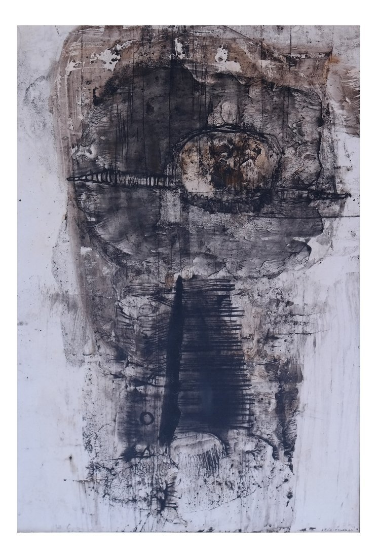Jean-Pierre Vielfaure, Abstract, Ink