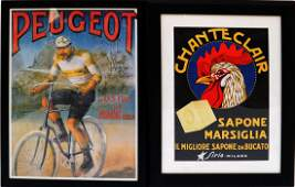 Two Repro French Advertising Posters