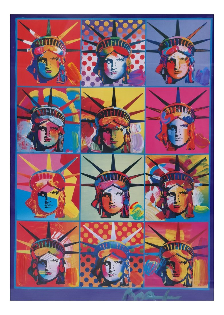 Peter Max Liberty & Justice for All, M/M