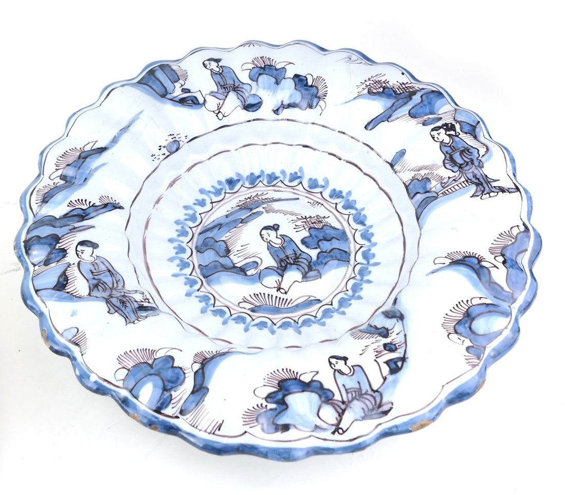 Tin-Glazed Pottery Charger