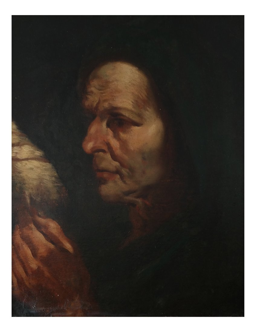 Vicellio Tizanio  Portrait, O/C