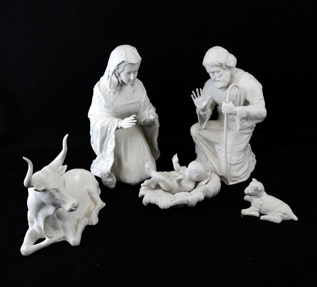 Five Boehm Nativity Figures