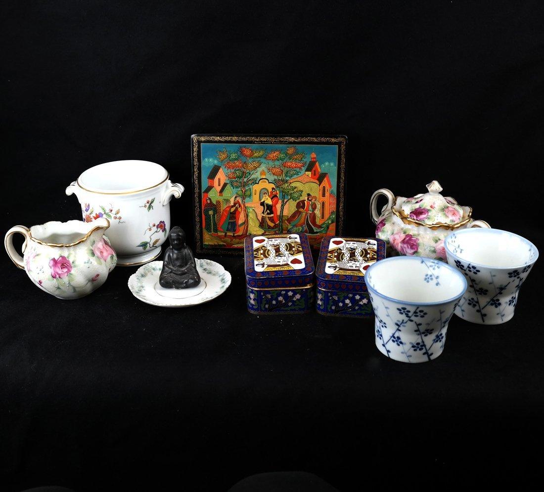 Nine Various Decorations