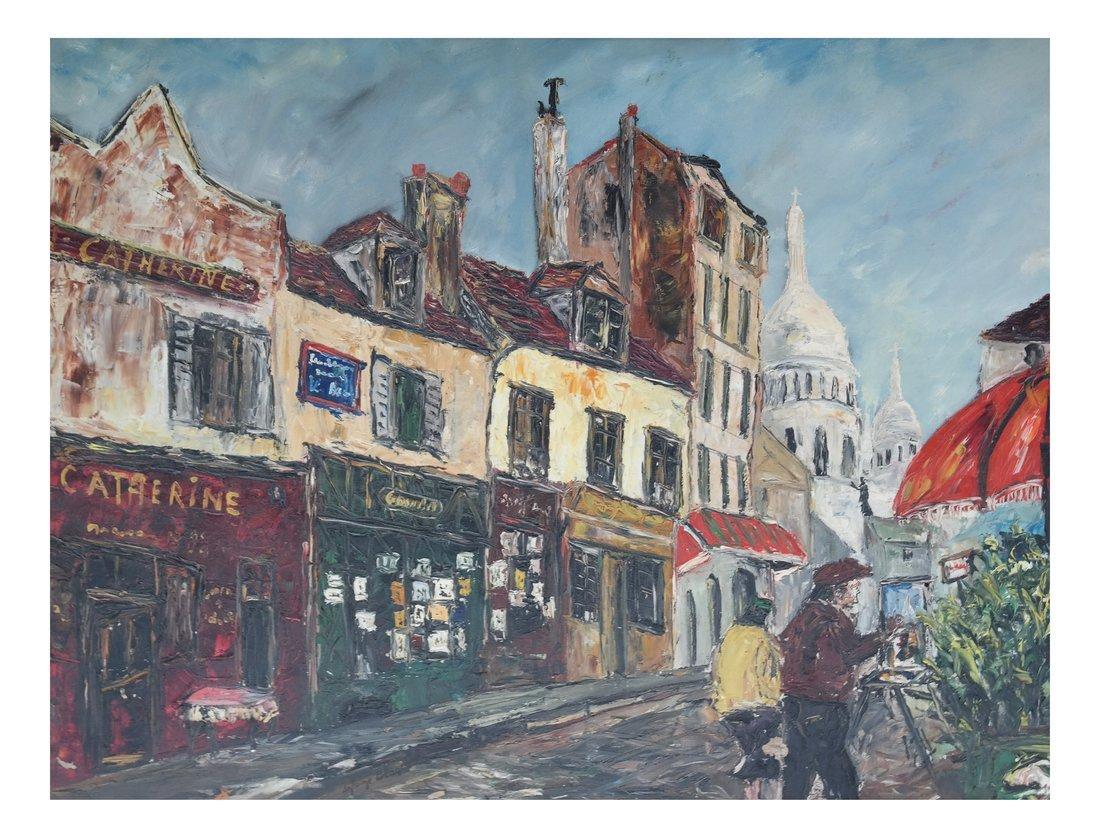 Antoine Blake, Street Scene