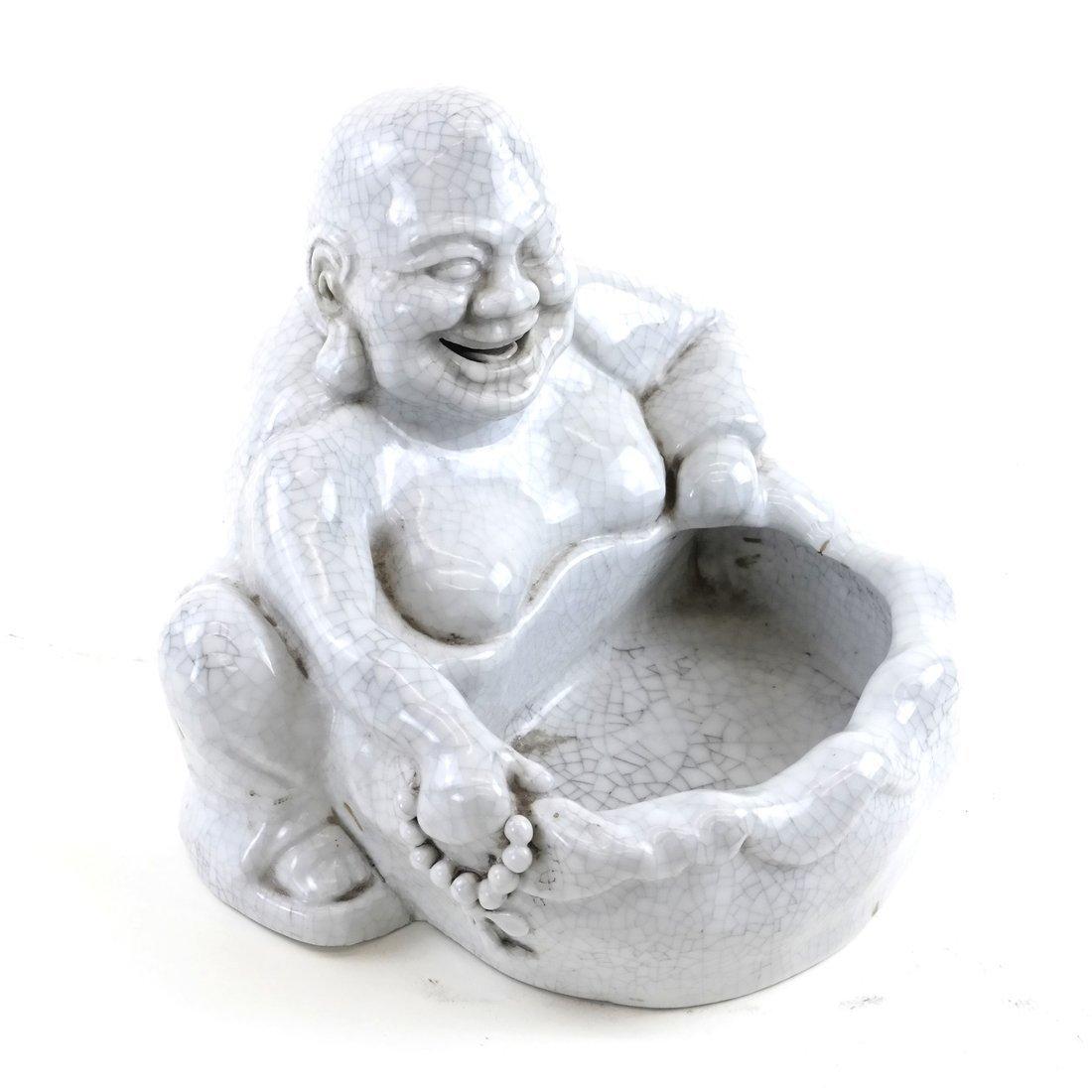 Chinese Ceramic Figural Bowl