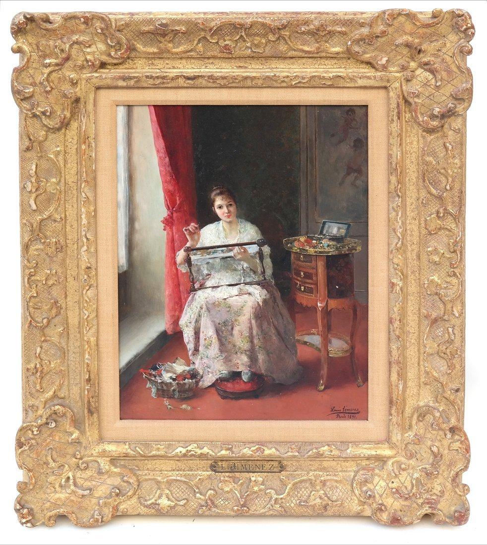 Louis Jimenez, Seated Woman