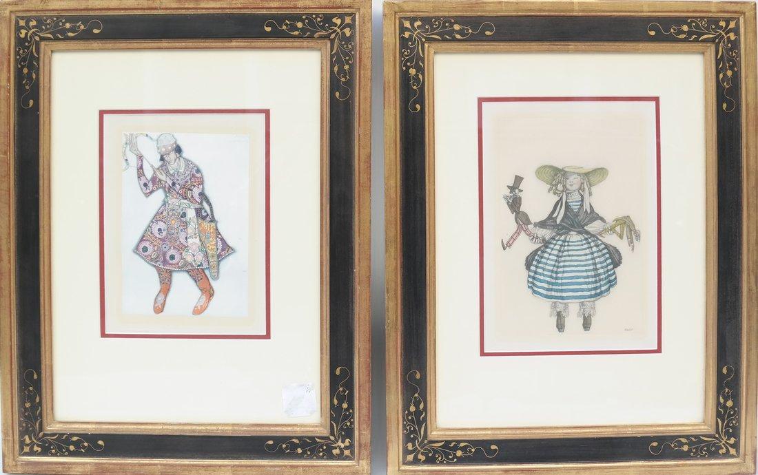 Two Costume Prints