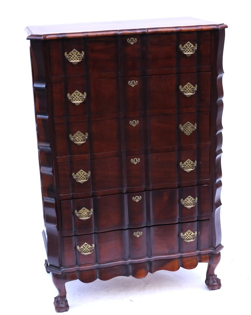 Scallop Form Tall Chest