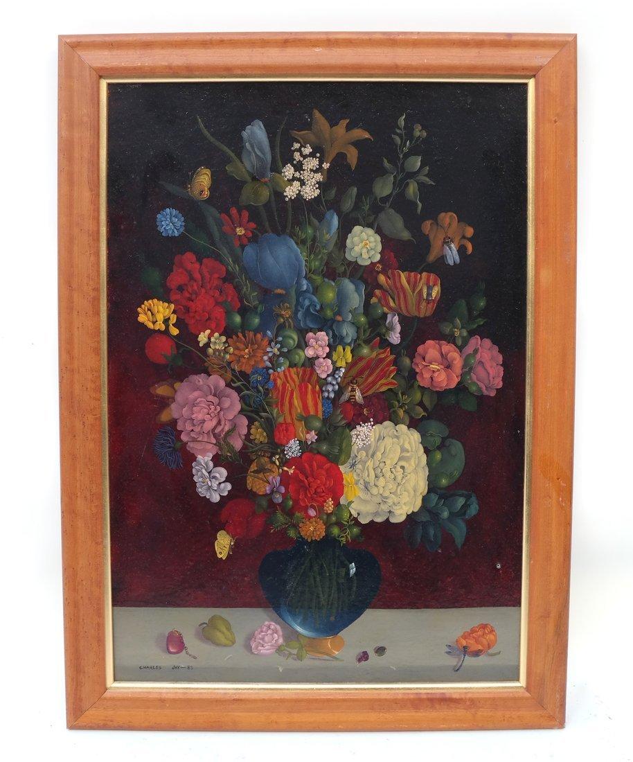 Charles Jay, Floral Still Life