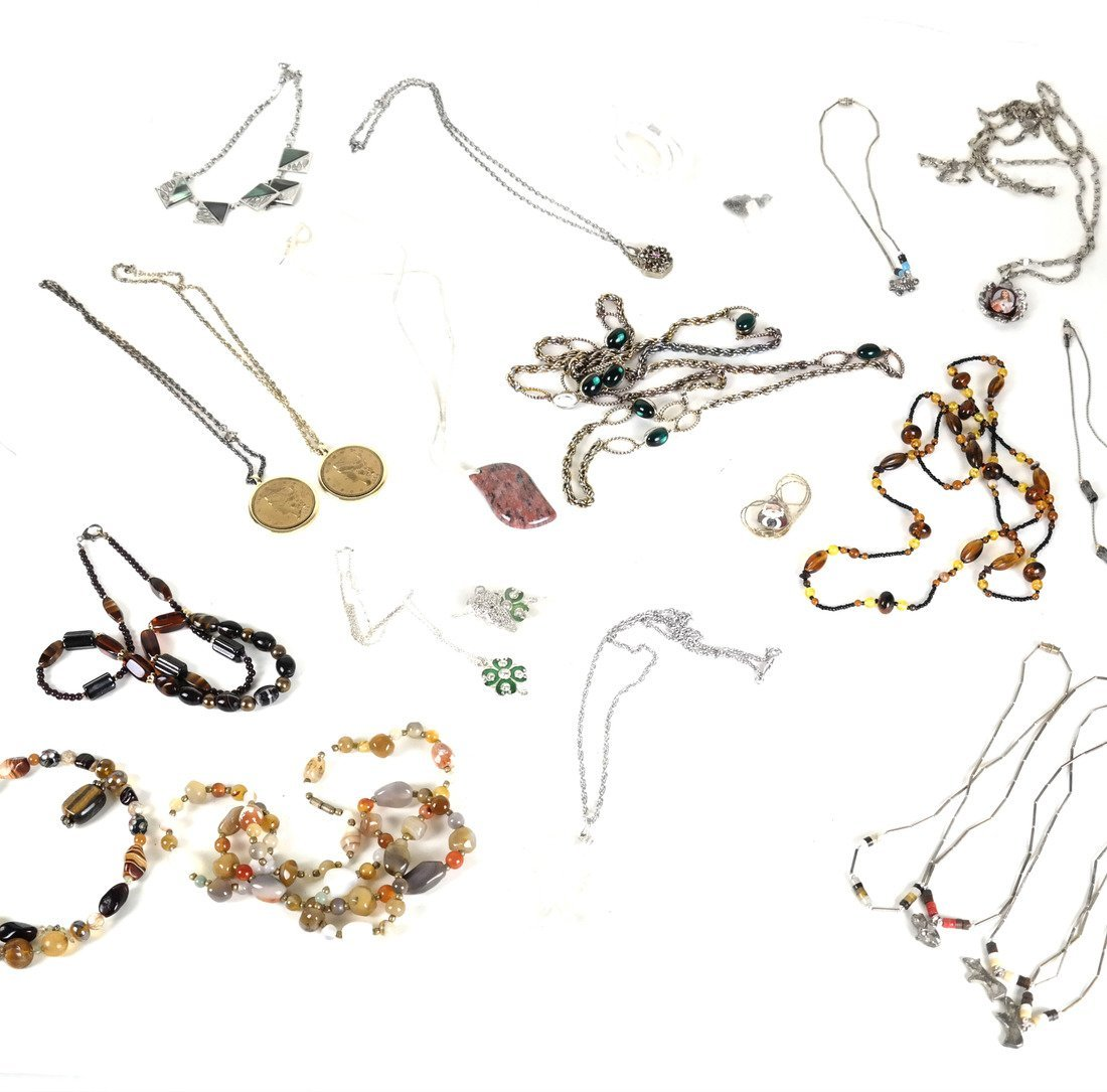 Box Lot of Costume Necklaces