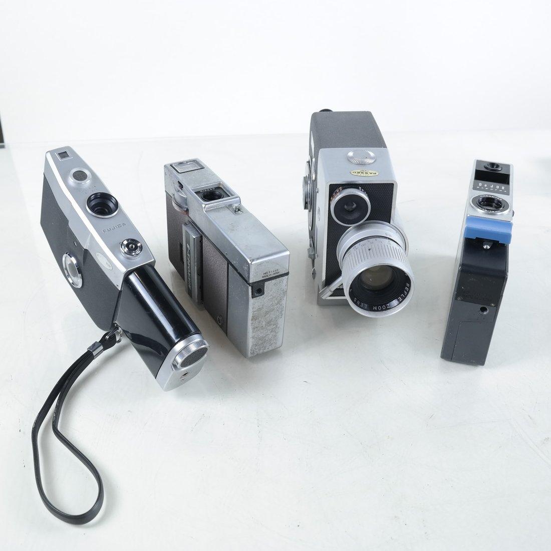 Four 1970's Film Cameras