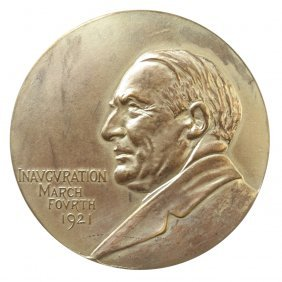 Warren Gamaliel Harding Presidential Inaugural Medal,