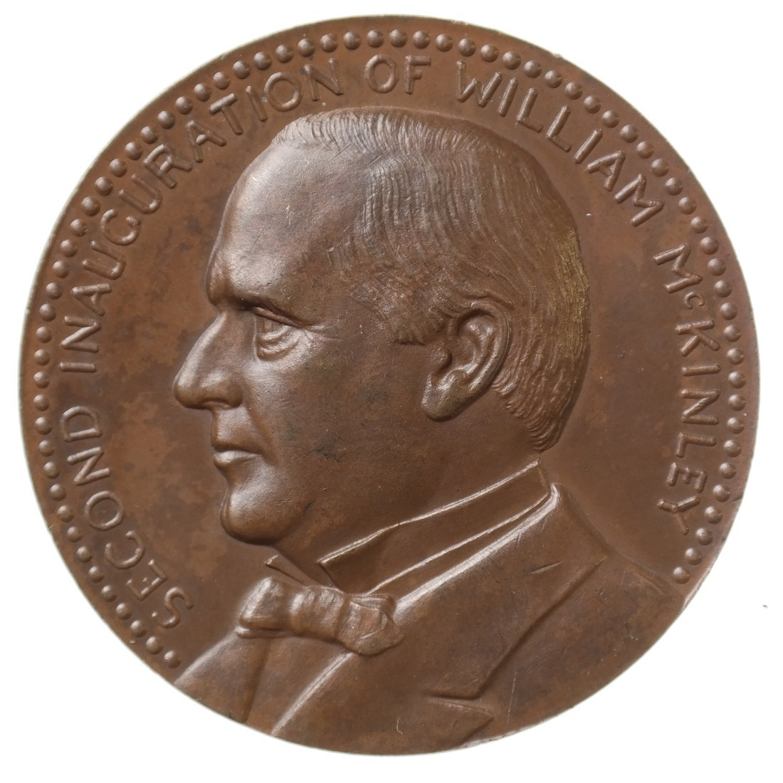 William McKinley Second Inaugural Medal, 1901.