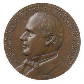 William McKinley Second Inaugural Medal, 1901.