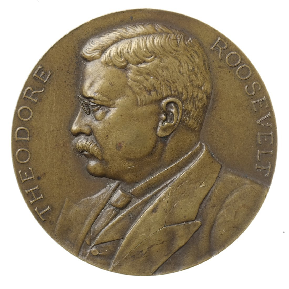 Theodore Roosevelt Inaugural Medal, 1905.