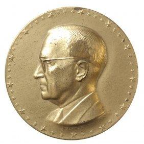 Harry S Truman Inaugural Medal, 1949.