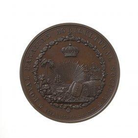 Royal Hawaiian Agricultural Society Exhibition Medal,