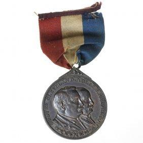 Grover Cleveland-Adlai E. Stevenson Inaugural Badge,