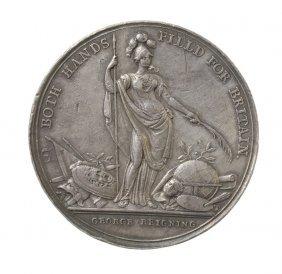 Jernegan Cistern Medal, 1736.