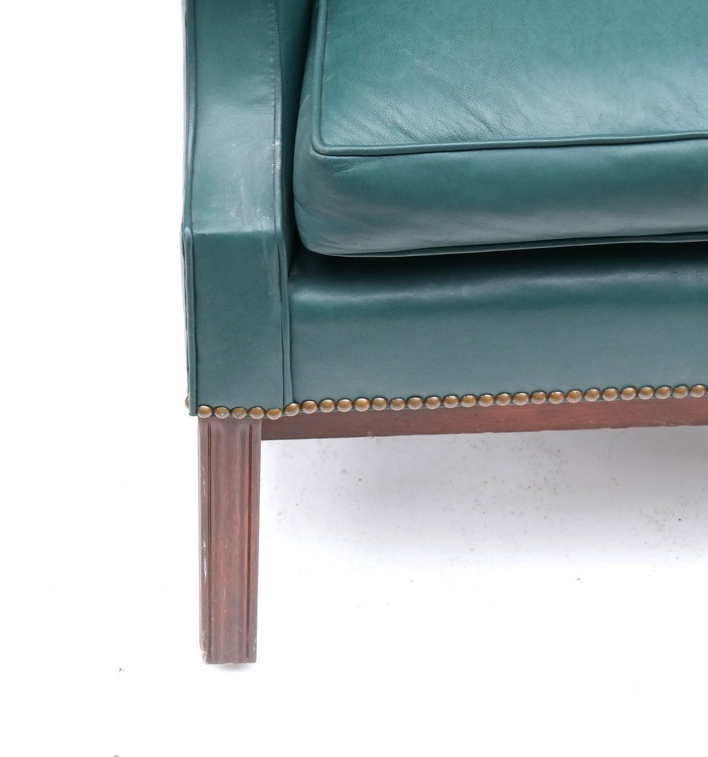 Queen Anne-Style Wing Chair - 2