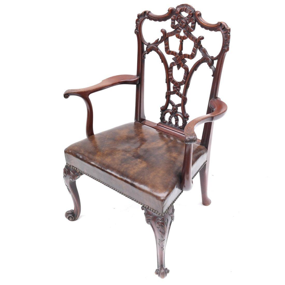 Antique English Armchair