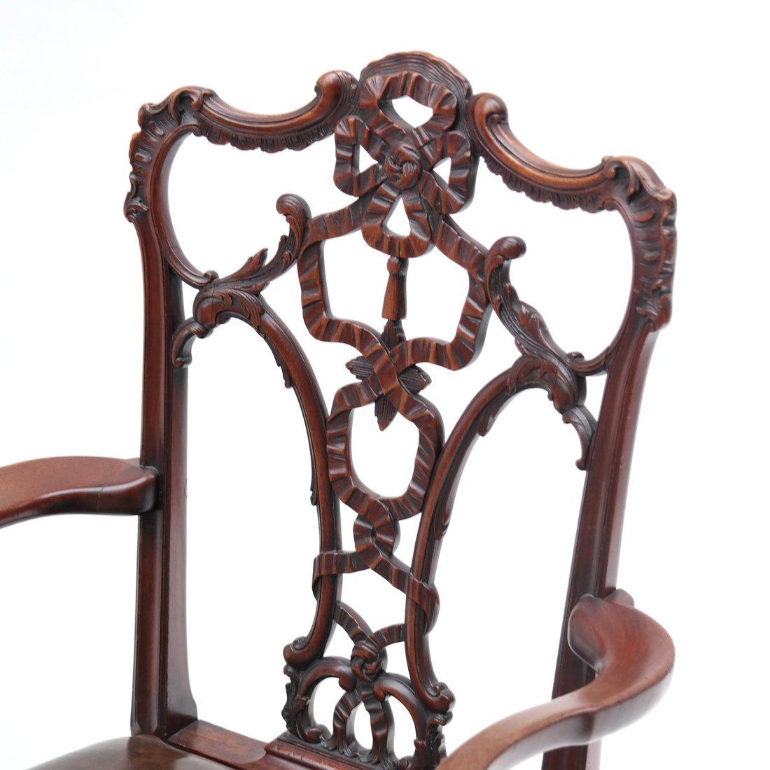 Antique English Armchair - 2