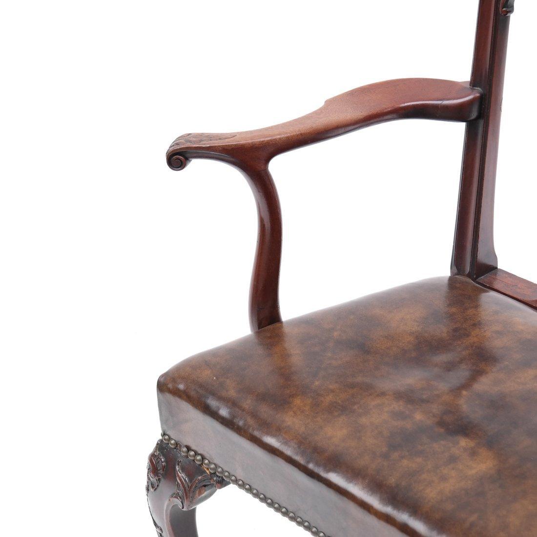 Antique English Armchair - 3