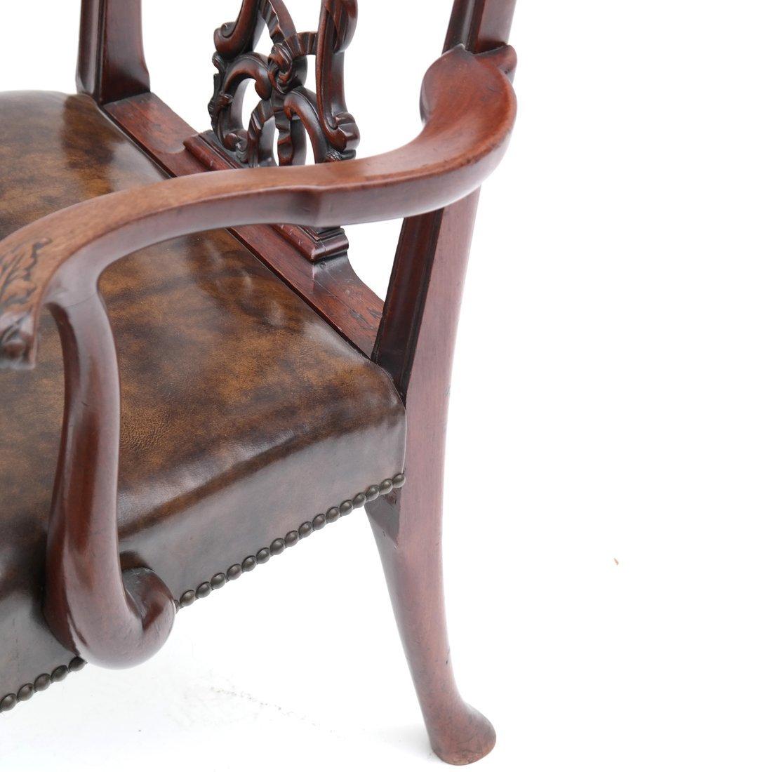 Antique English Armchair - 5