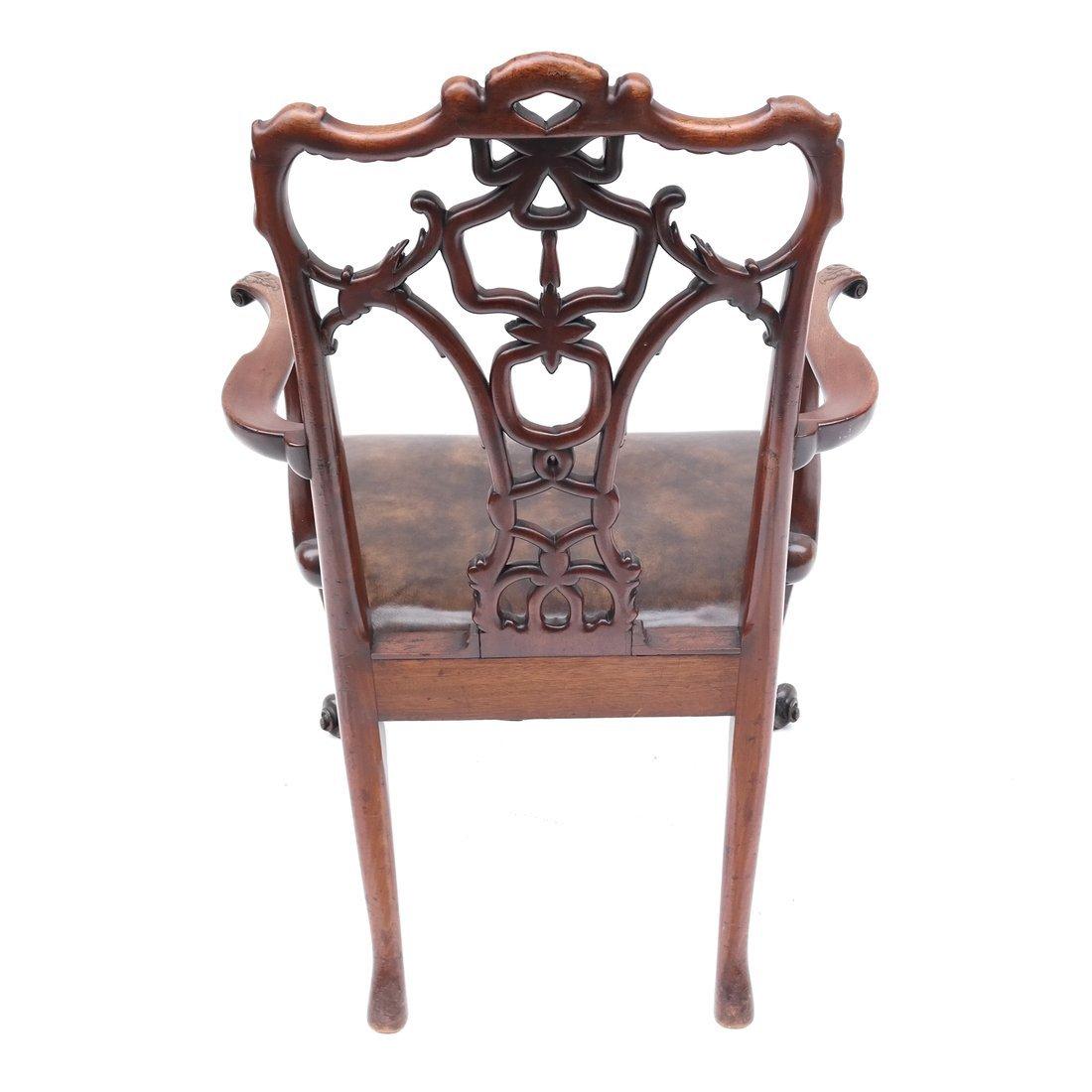 Antique English Armchair - 6