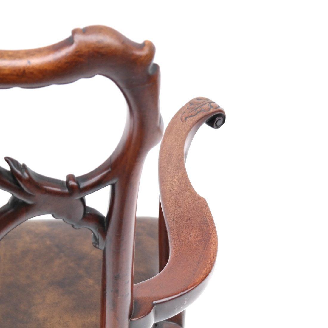 Antique English Armchair - 7