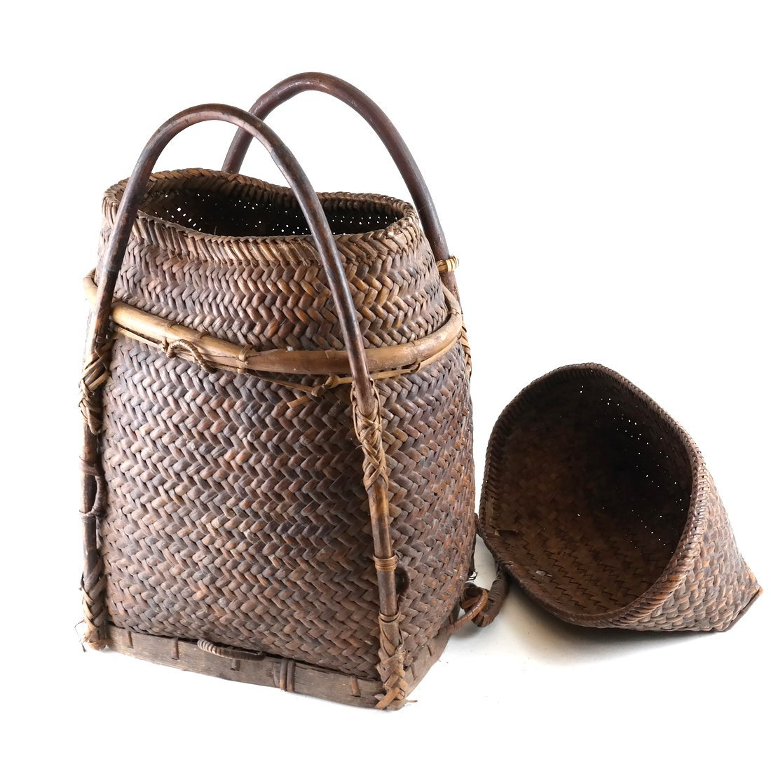Two Woven Baskets - 6