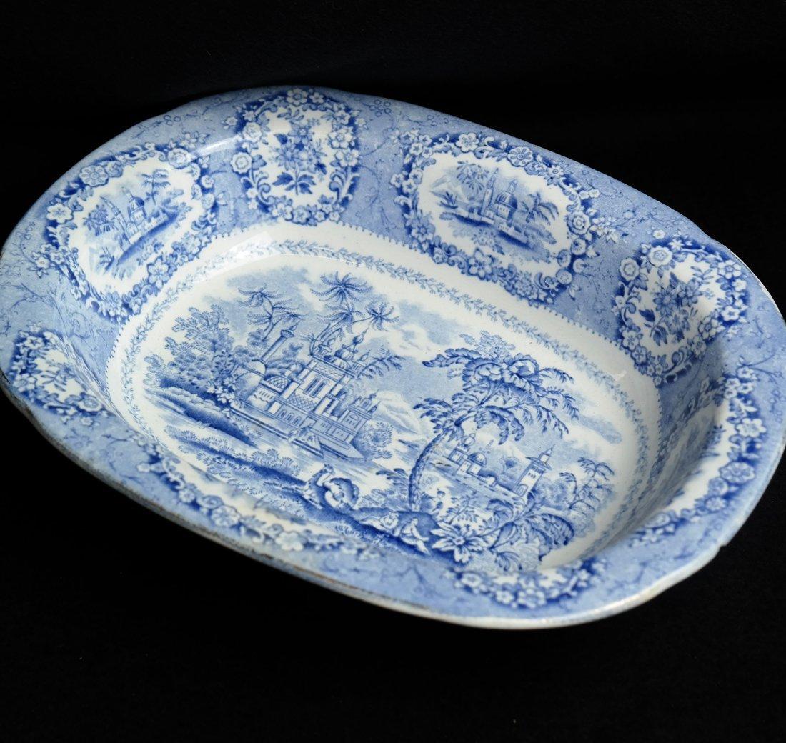 41 Blue & White Porcelain Tableware - 2