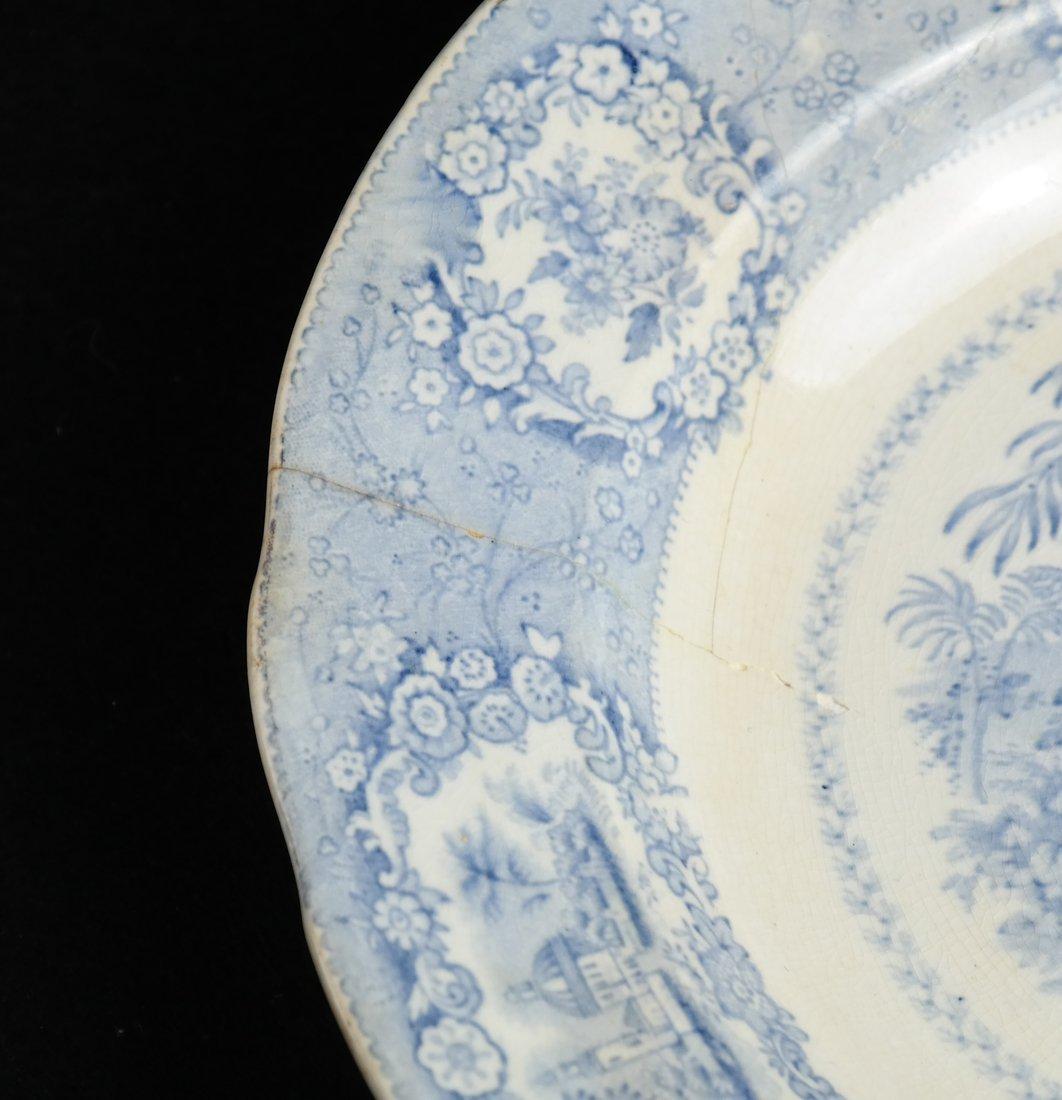 41 Blue & White Porcelain Tableware - 7
