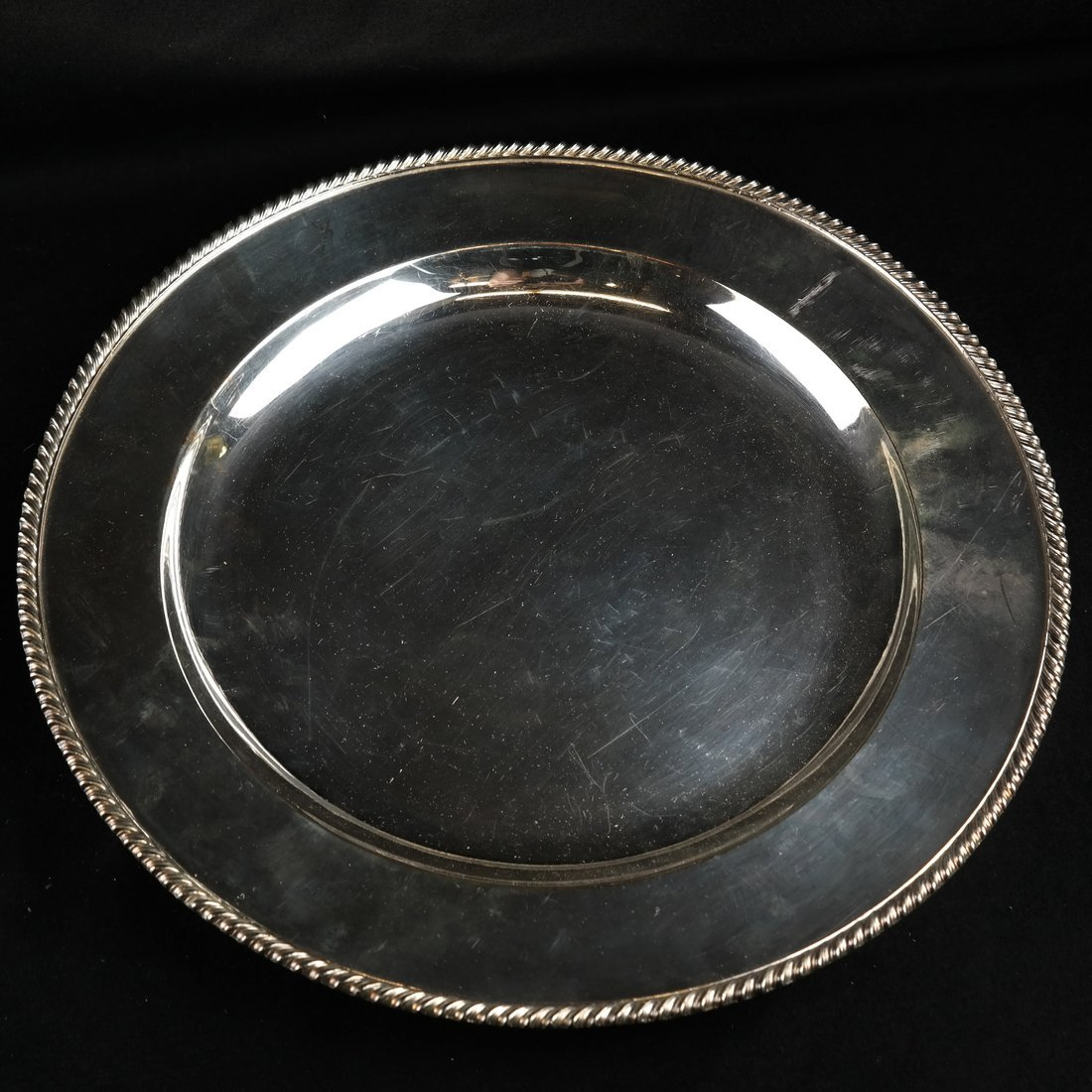 Five Silver Plate Trays - 4
