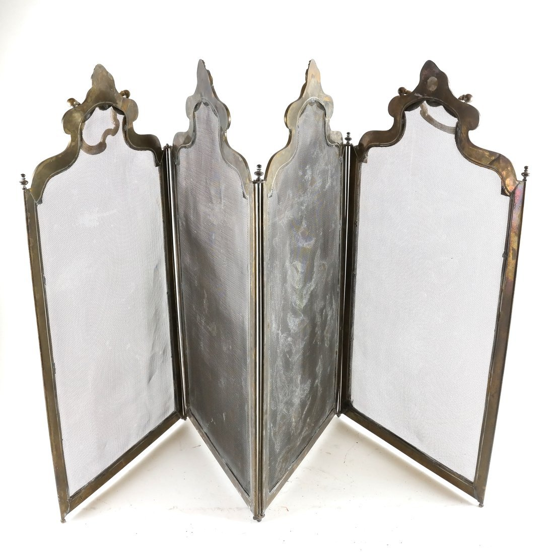 Brass Fire Screen - 2