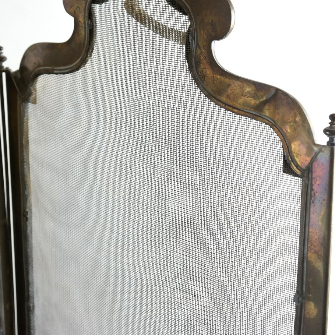 Brass Fire Screen - 5