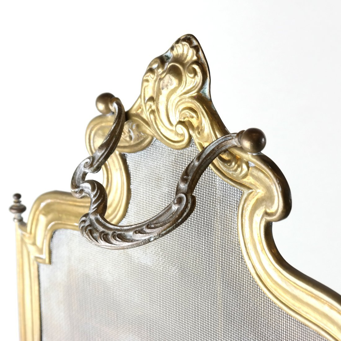 Brass Fire Screen - 6