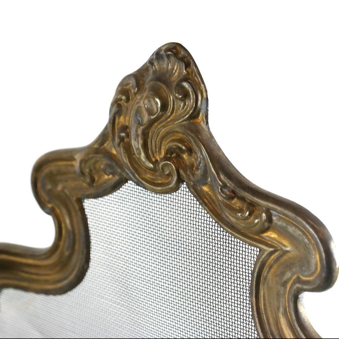 Brass Fire Screen - 7