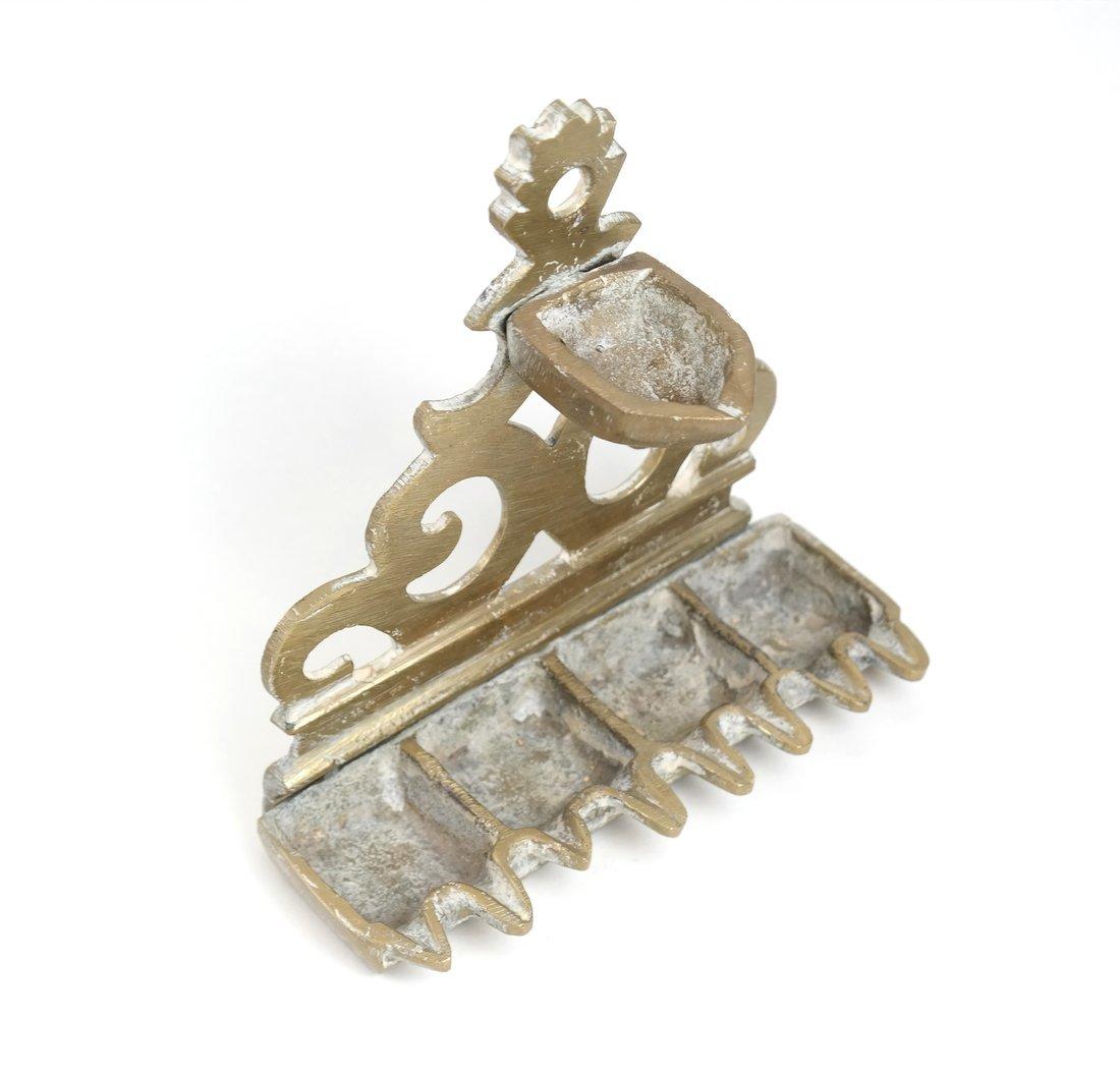 Eight Brass Judaic Items - 2