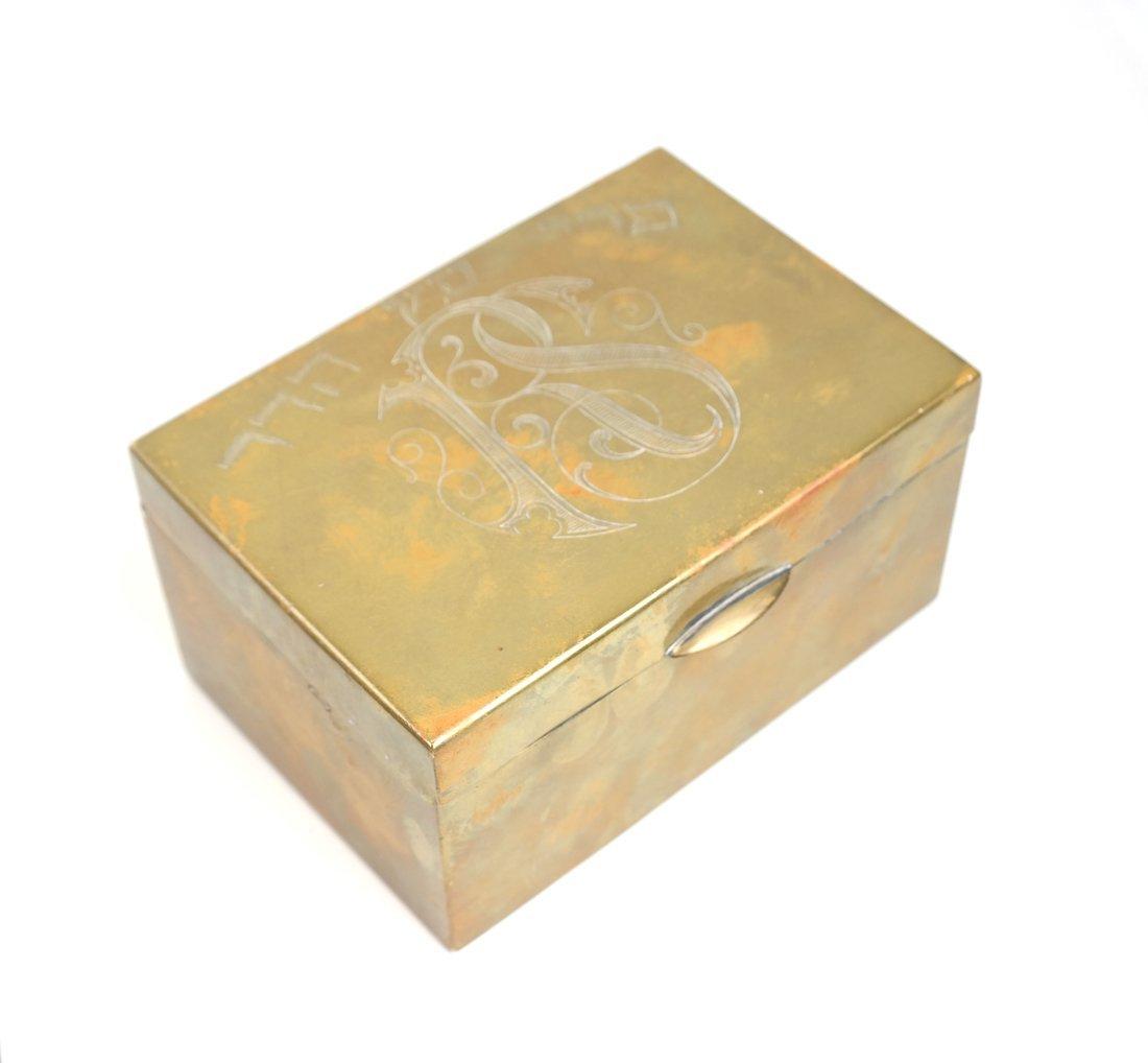 Eight Brass Judaic Items - 6